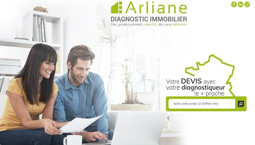 Arliane Diagnostic Immobilier au salon Franchise Expo à Paris