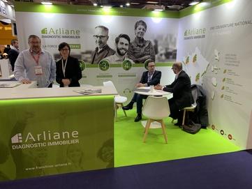 Succès de fréquentation pour Arliane au salon Franchise Expo à Paris !